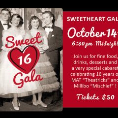 Millibo's Sweet 16 Gala and Super Fun Fundraiser!