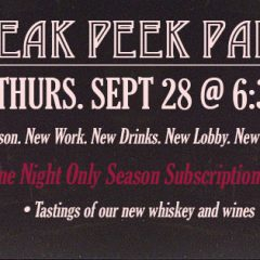 Sneak a Peek Party!