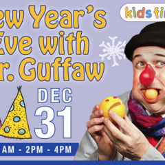 New Year's Eve  w/ Mr. Guffaw SOLD OUT  Dec 31